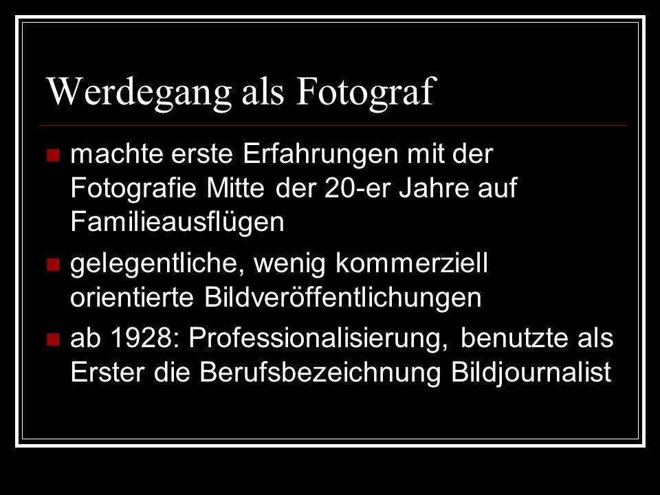 Werdegang als Fotograf