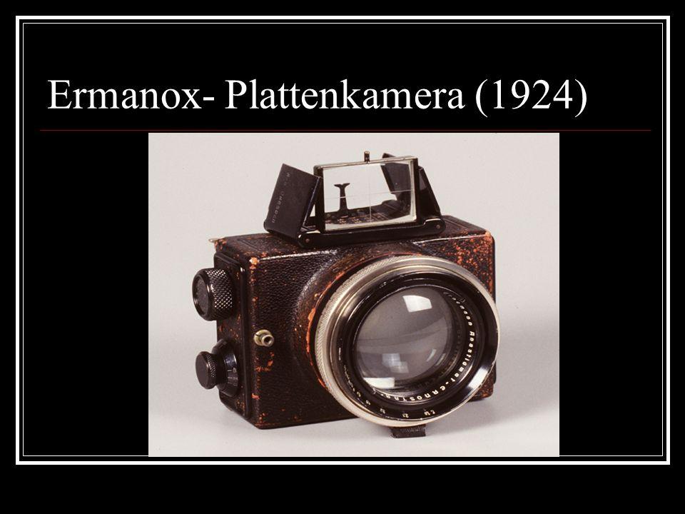 Ermanox- Plattenkamera (1924)
