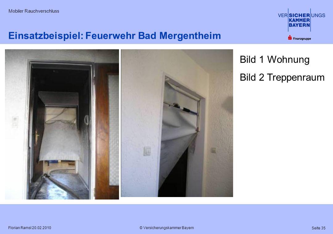 Einsatzbeispiel: Feuerwehr Bad Mergentheim