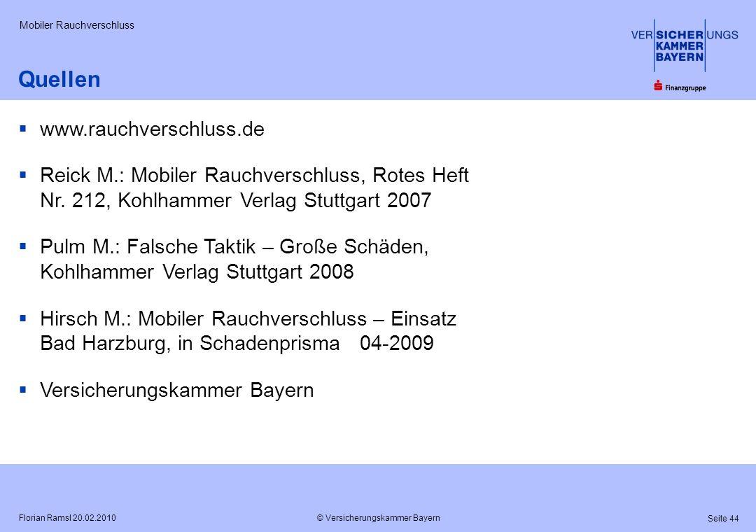 Quellen www.rauchverschluss.de