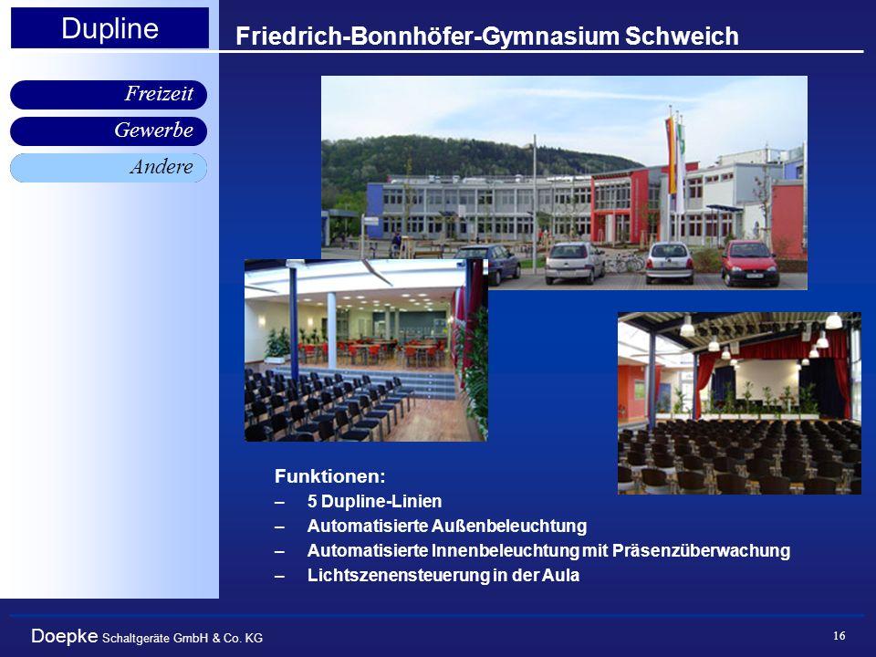 Friedrich-Bonnhöfer-Gymnasium Schweich
