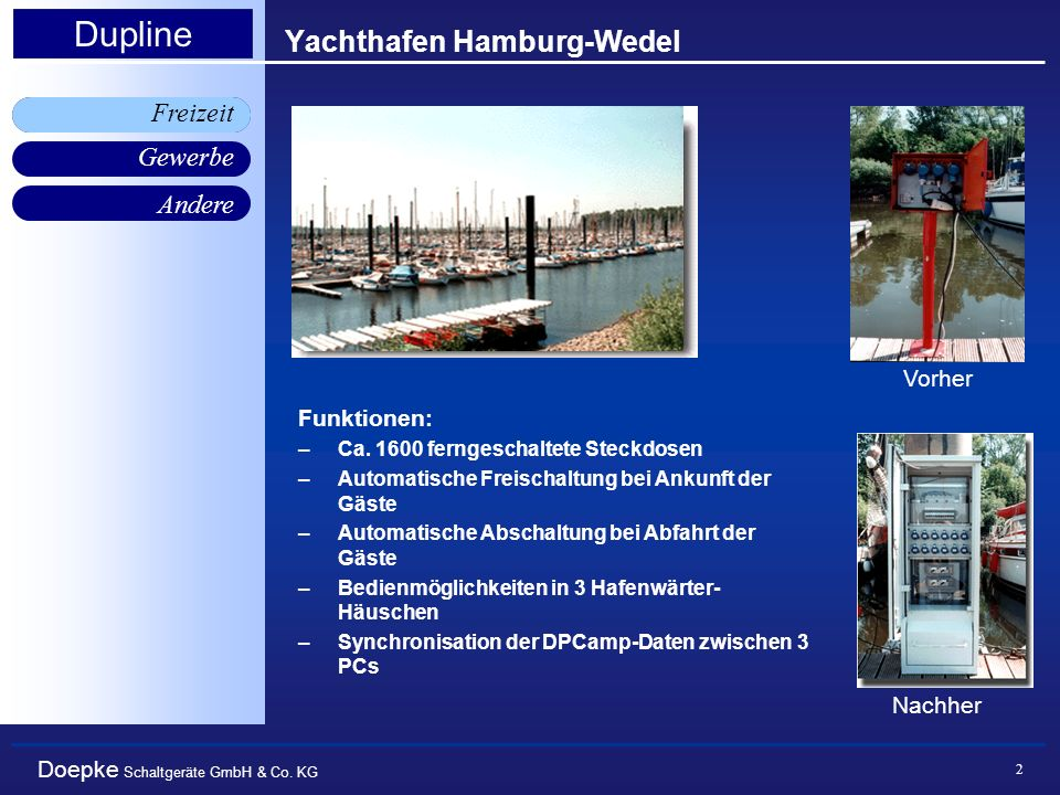 Yachthafen Hamburg-Wedel