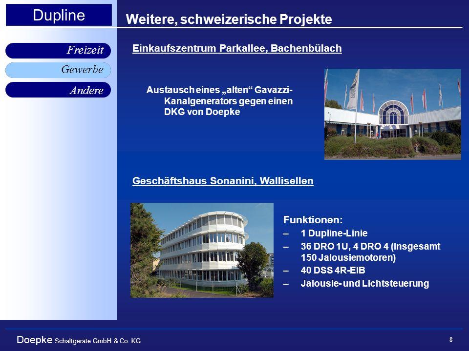Weitere, schweizerische Projekte