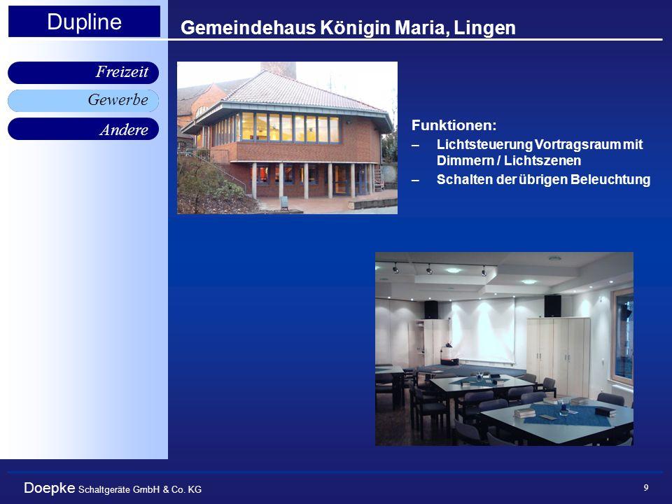 Gemeindehaus Königin Maria, Lingen