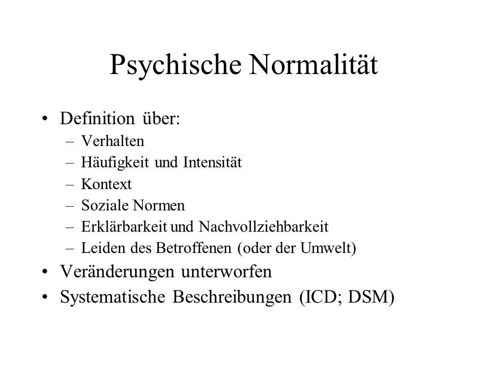 Psychische Normalität