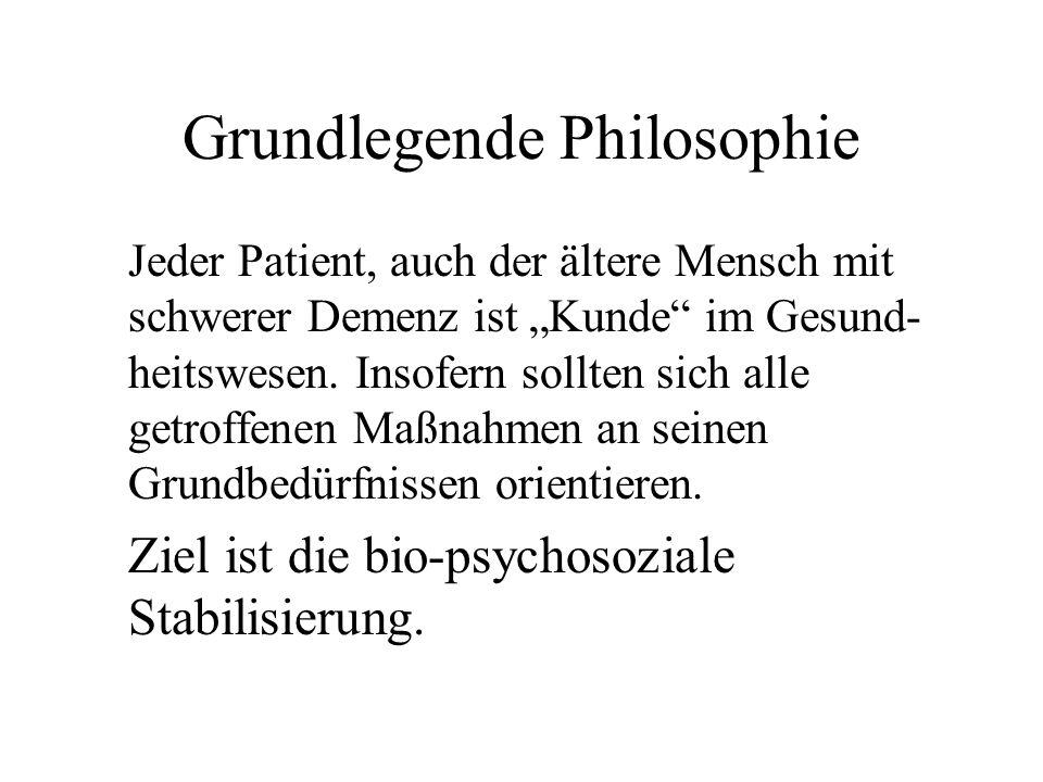 Grundlegende Philosophie