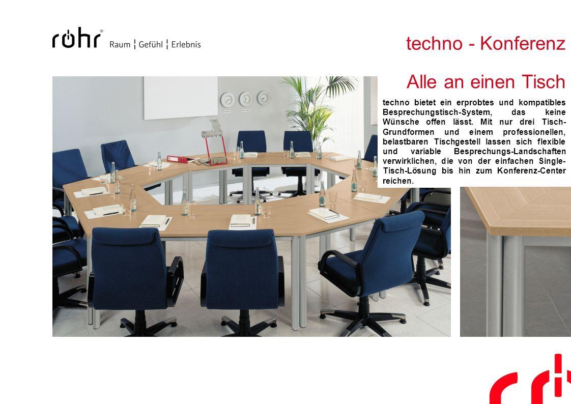 techno - Konferenz Alle an einen Tisch