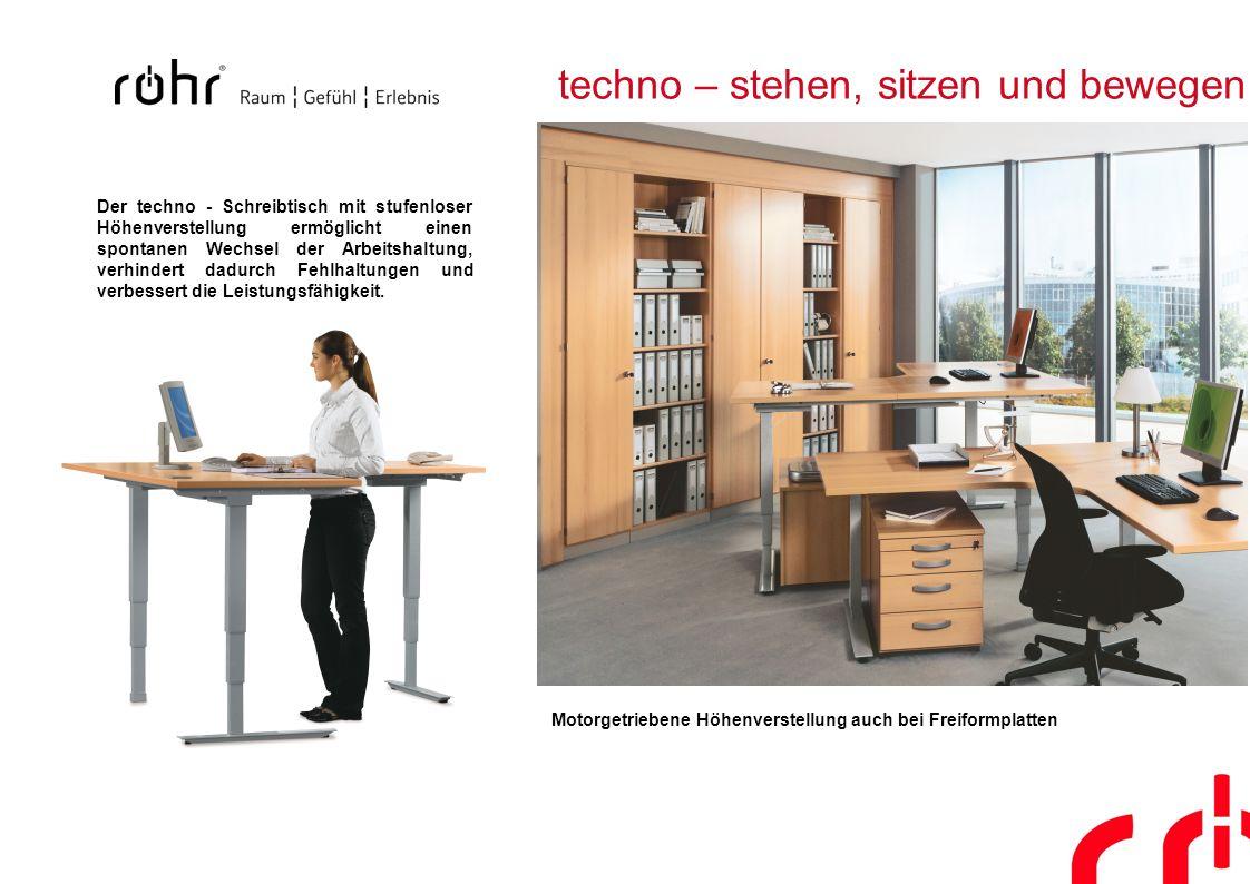 techno – stehen, sitzen und bewegen