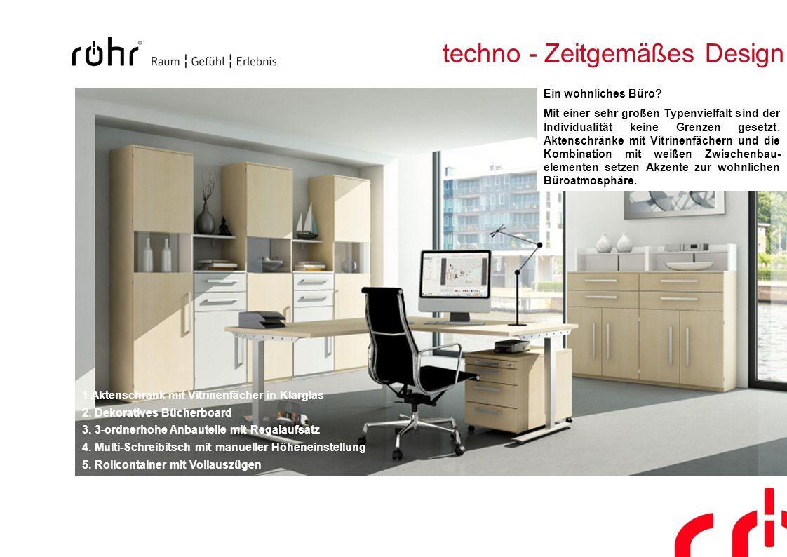 techno - Zeitgemäßes Design