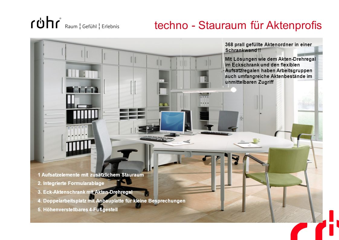 techno - Stauraum für Aktenprofis