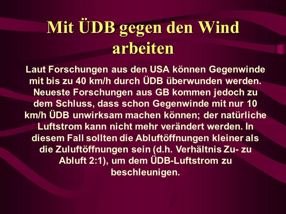 Mit ÜDB gegen den Wind arbeiten