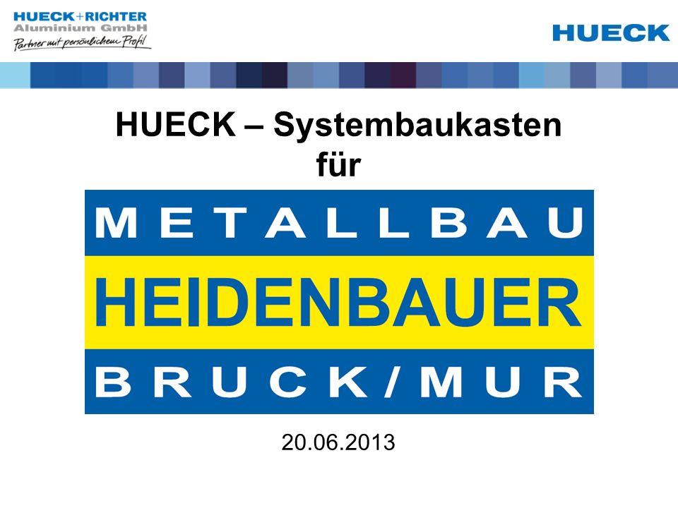 HUECK – Systembaukasten