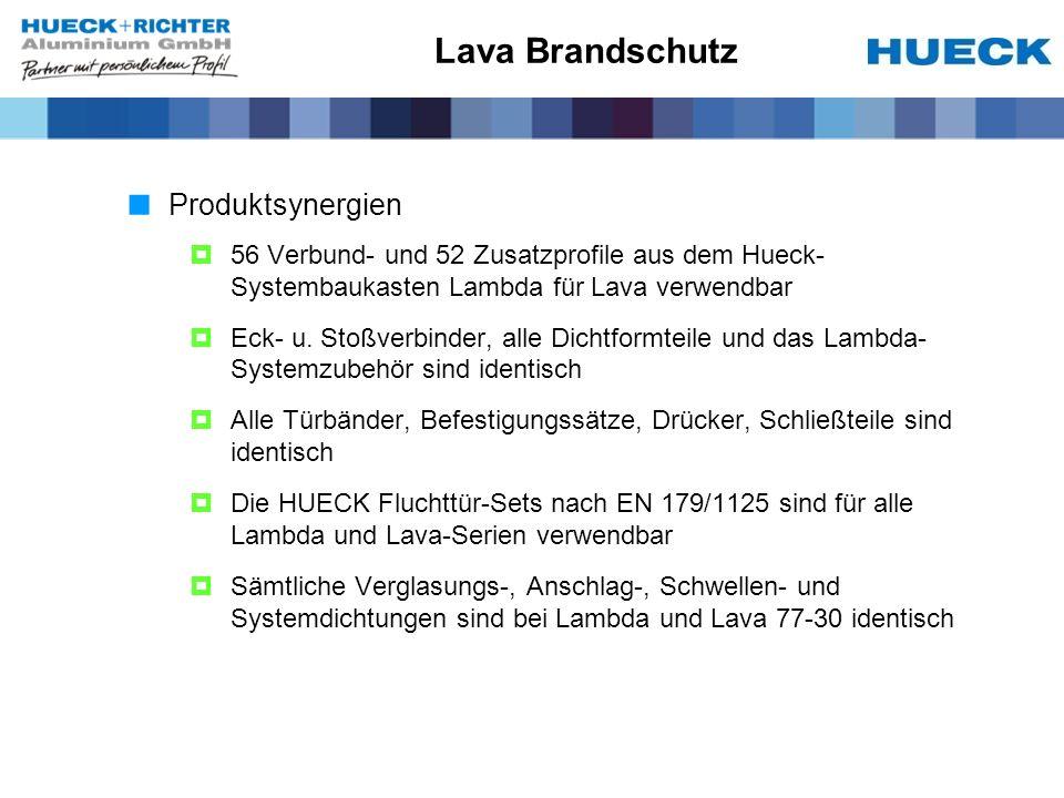 Lava Brandschutz Produktsynergien