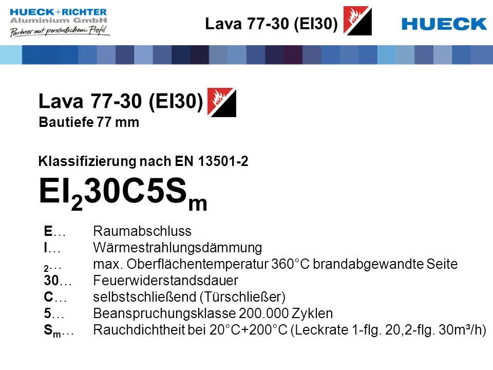 EI230C5Sm Lava 77-30 (EI30) Lava 77-30 (EI30) Bautiefe 77 mm