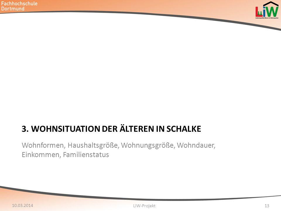 3. Wohnsituation der älteren in Schalke