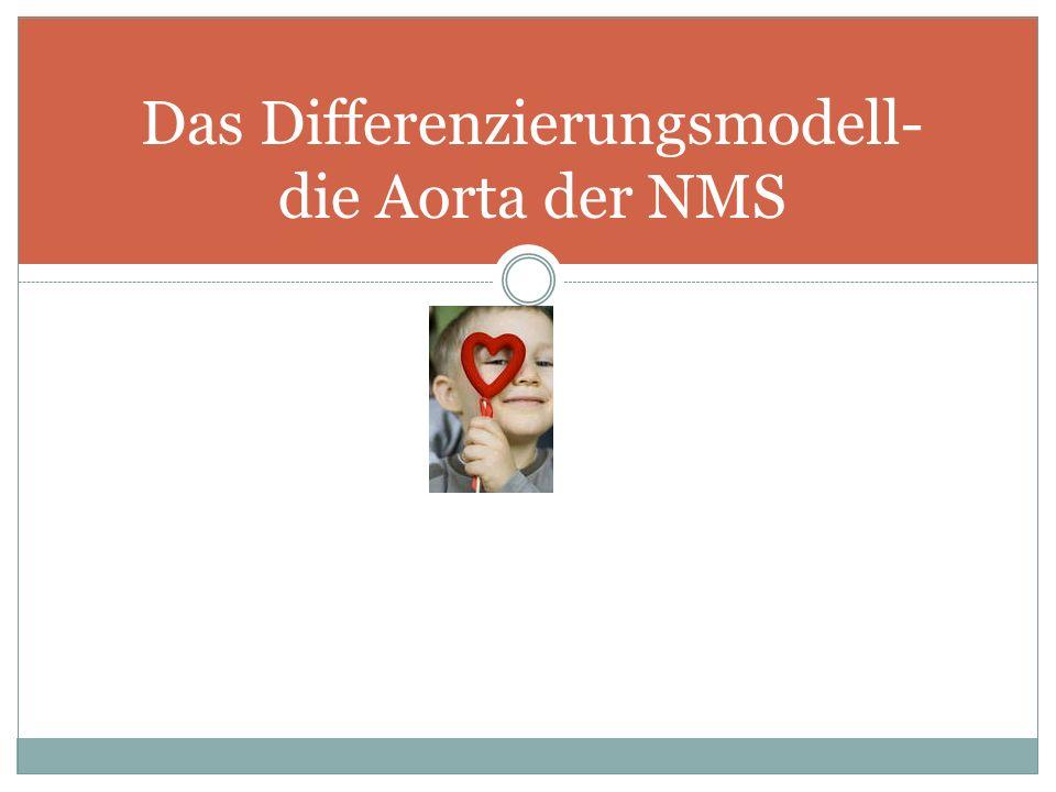 Das Differenzierungsmodell- die Aorta der NMS