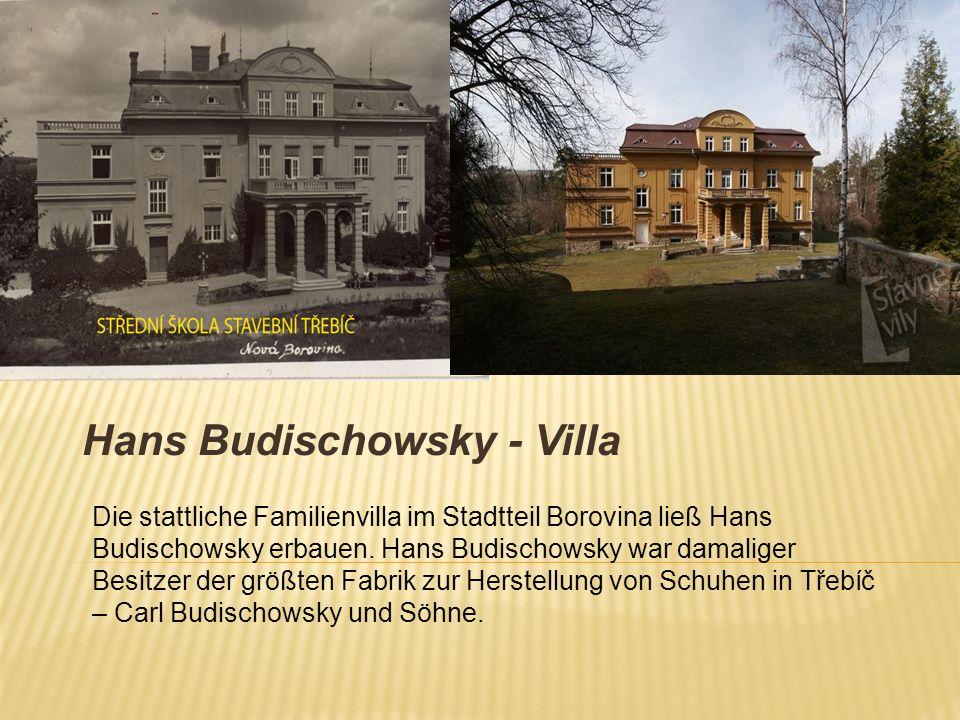Hans Budischowsky - Villa