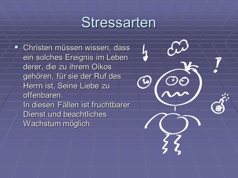 Stressarten
