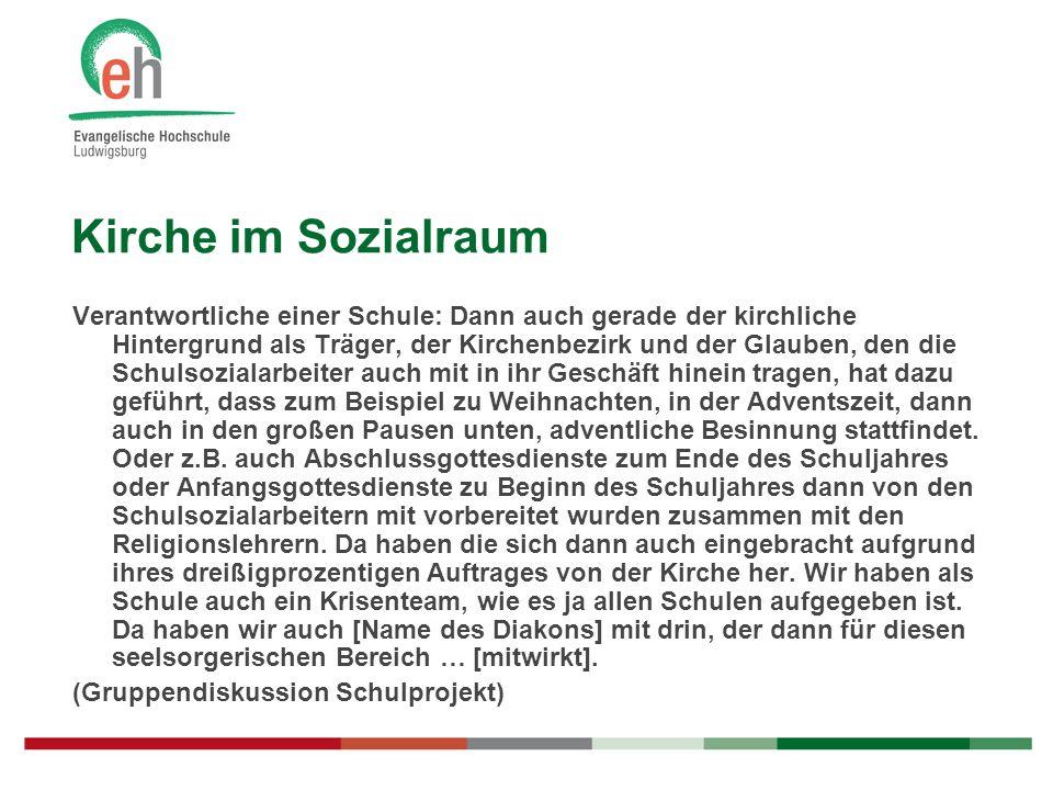 Kirche im Sozialraum