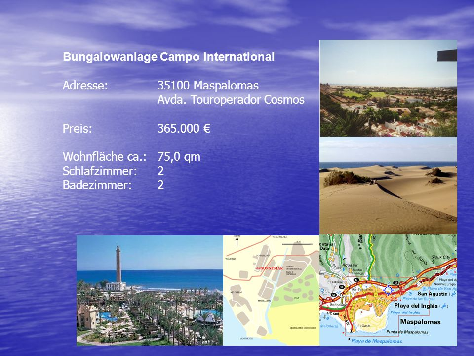 Bungalowanlage Campo International