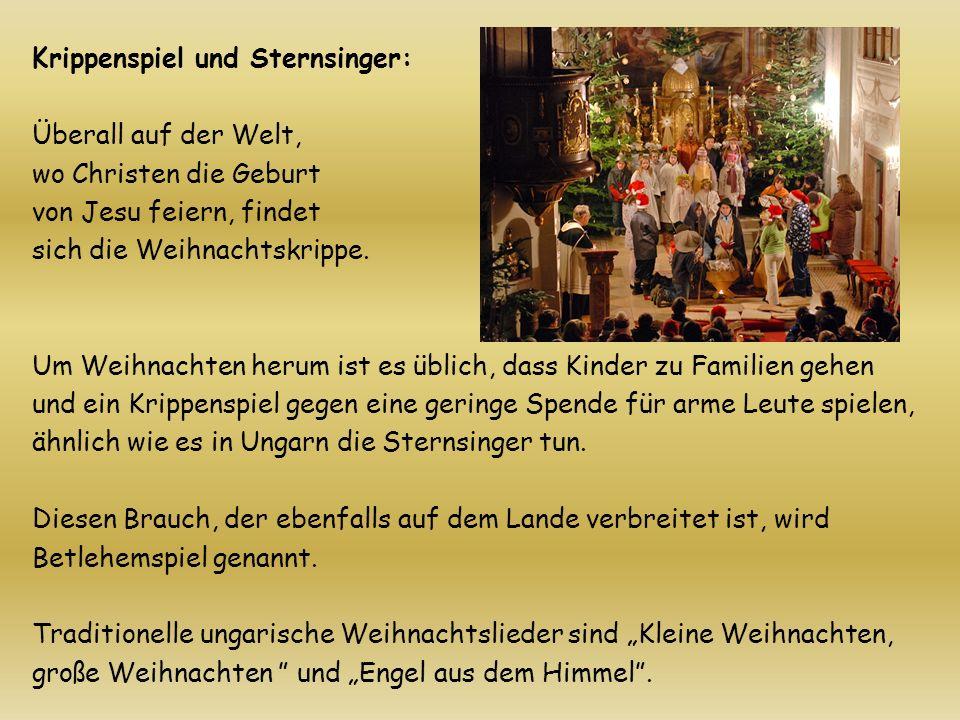 Krippenspiel und Sternsinger: Überall auf der Welt, wo Christen die Geburt von Jesu feiern, findet sich die Weihnachtskrippe.