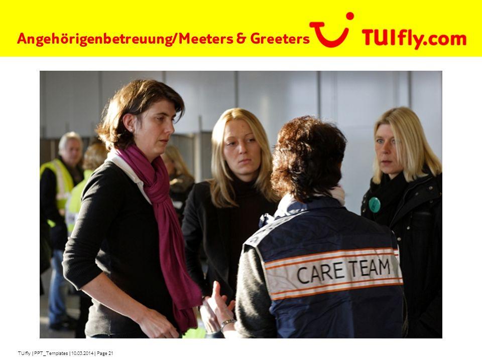 Angehörigenbetreuung/Meeters & Greeters