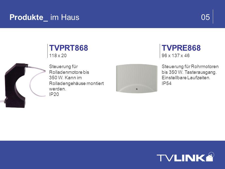 Produkte_ im Haus 05 TVPRT868 TVPRE868 118 x 20