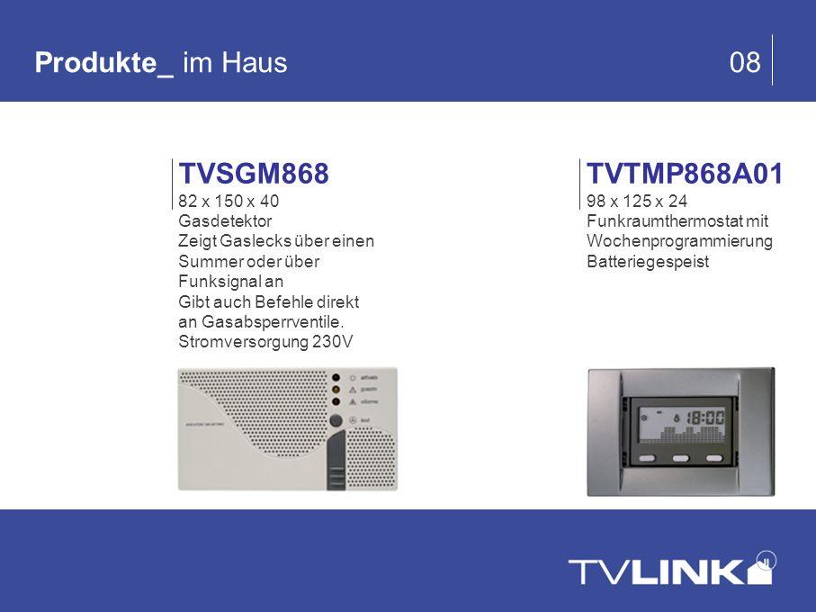 Produkte_ im Haus 08 TVSGM868 TVTMP868A01 82 x 150 x 40 Gasdetektor