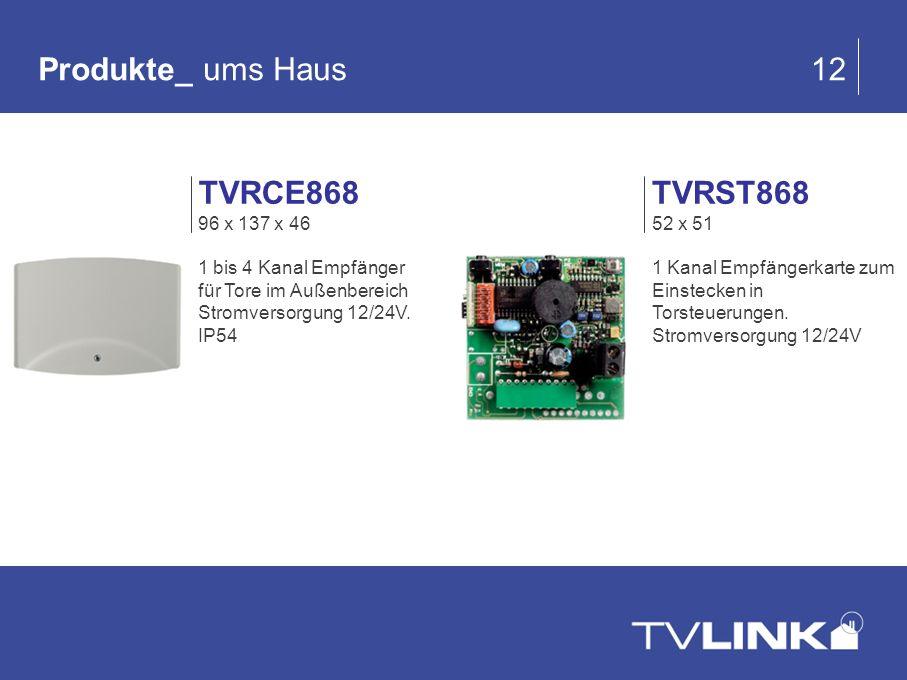 Produkte_ ums Haus 12 TVRCE868 TVRST868 96 x 137 x 46