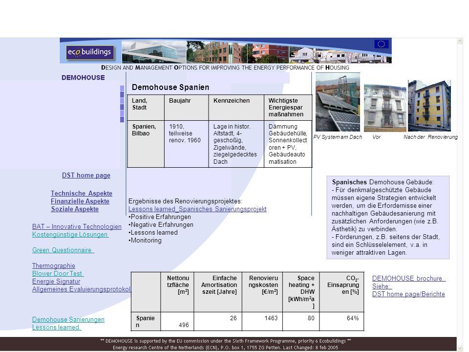 Demohouse Spanien Spanisches Demohouse Gebäude: