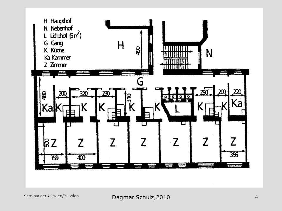 Das Rote Wien Wohnsituation um die Jahrhundertwende Dagmar Schulz,2010