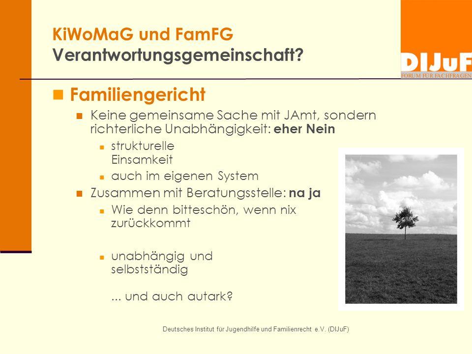KiWoMaG und FamFG Verantwortungsgemeinschaft