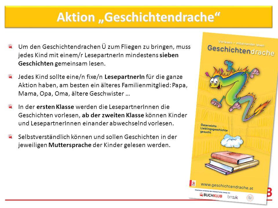 """Aktion """"Geschichtendrache"""