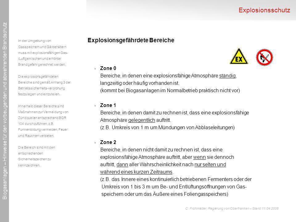 Explosionsschutz Explosionsgefährdete Bereiche Zone 0