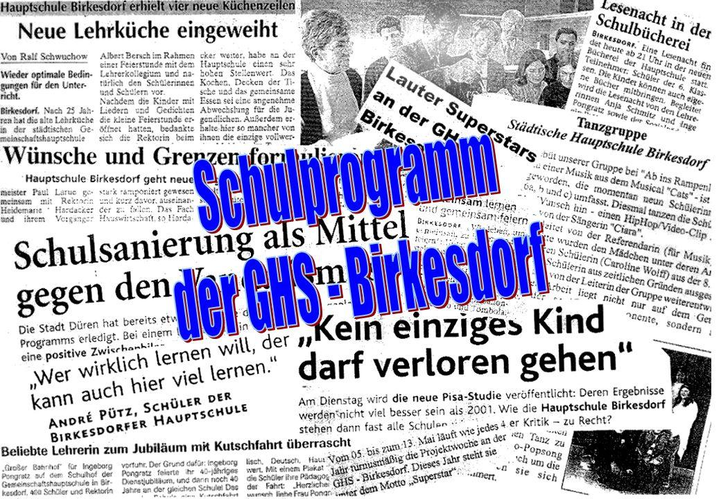 Schulprogramm der GHS - Birkesdorf