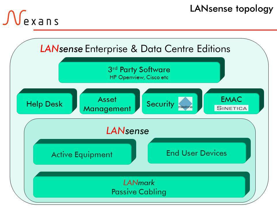 LANsense Enterprise & Data Centre Editions