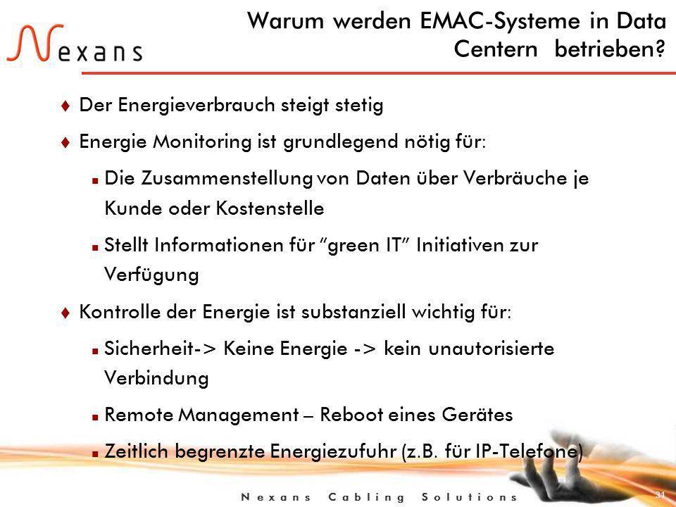 Warum werden EMAC-Systeme in Data Centern betrieben