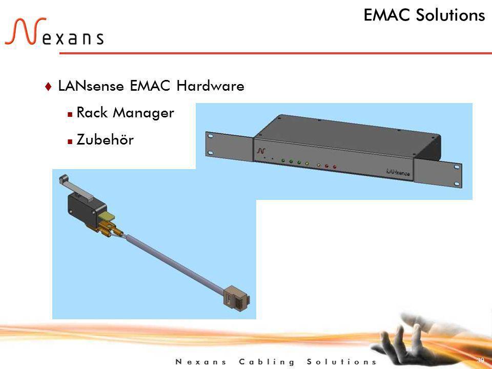 EMAC Solutions LANsense EMAC Hardware Rack Manager Zubehör