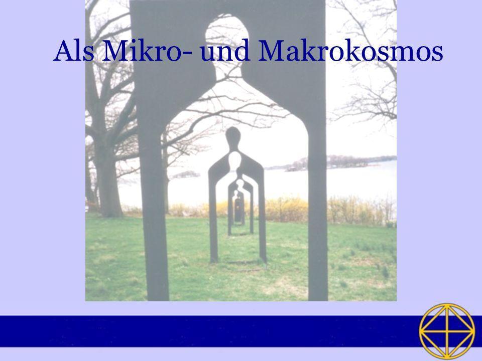 Als Mikro- und Makrokosmos