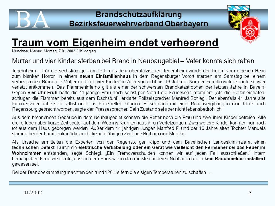 Traum vom Eigenheim endet verheerend Münchner Merkur: Montag, 7. 01