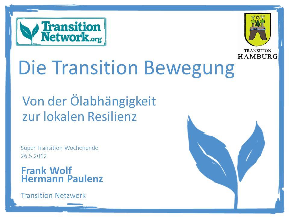 Die Transition Bewegung