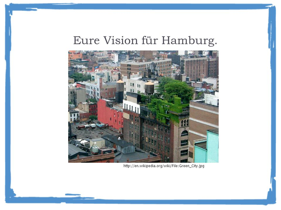 Eure Vision für Hamburg.