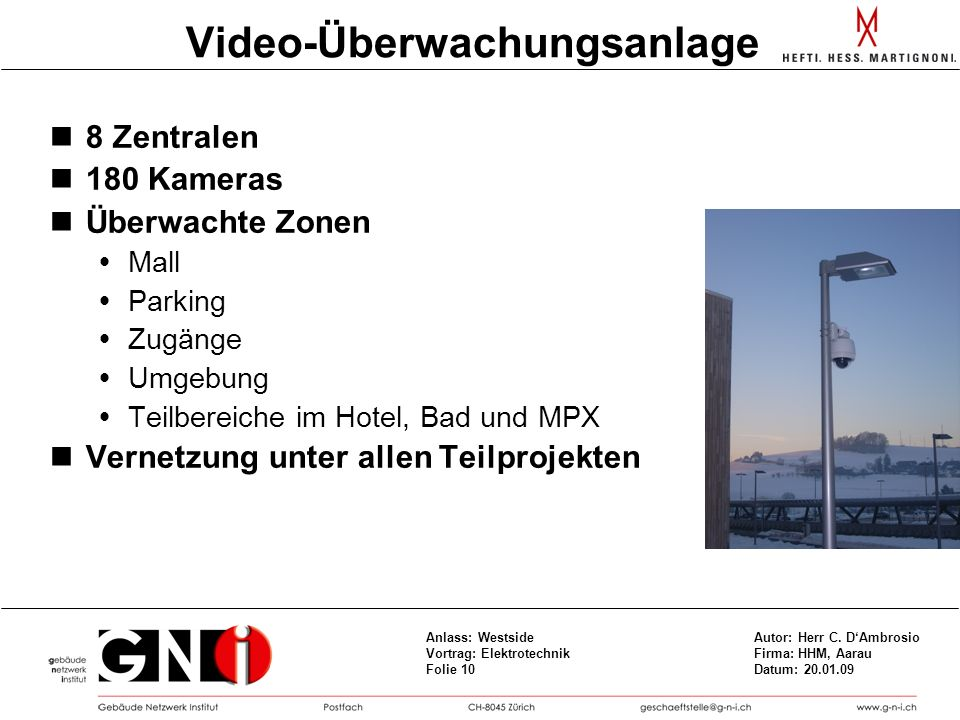 Video-Überwachungsanlage