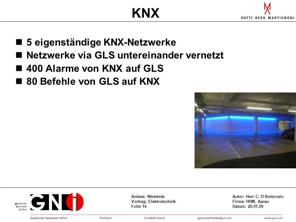 KNX 5 eigenständige KNX-Netzwerke