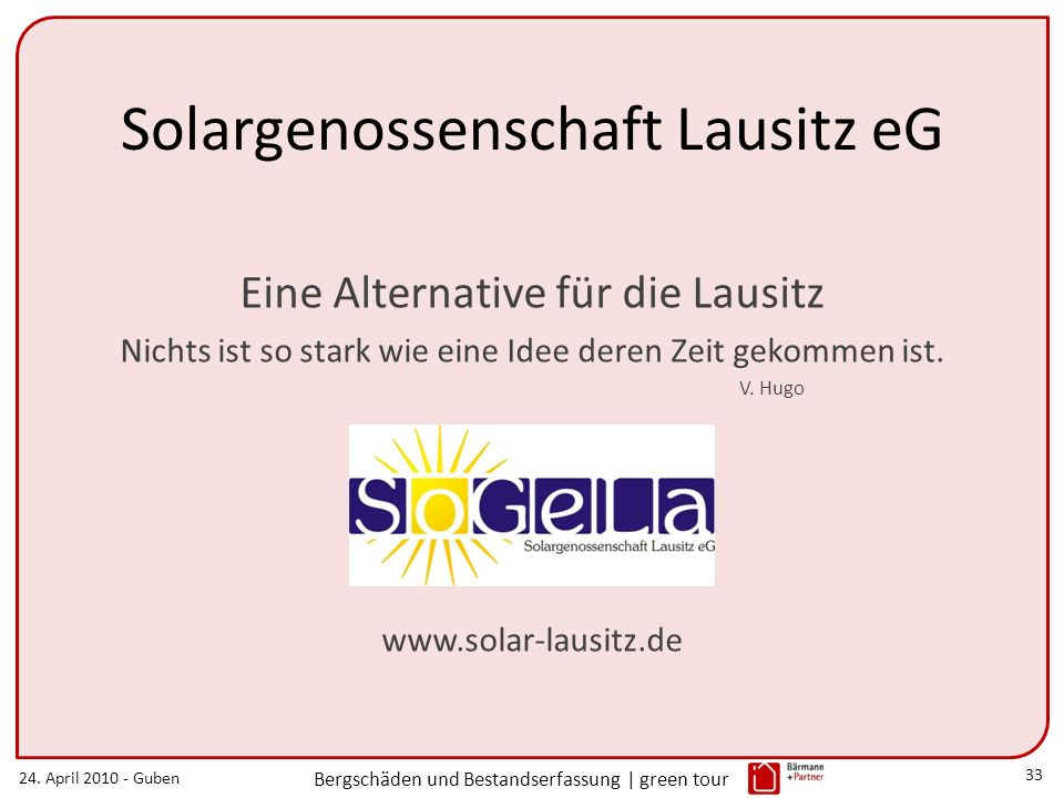 Solargenossenschaft Lausitz eG