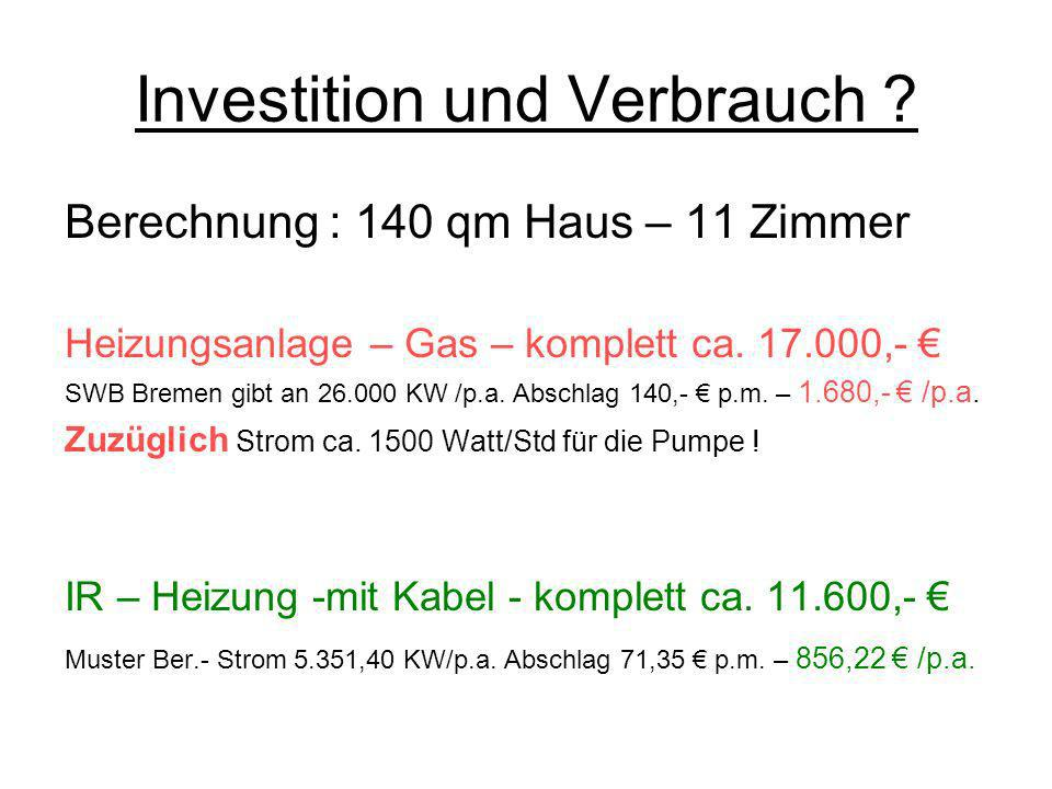 Investition und Verbrauch