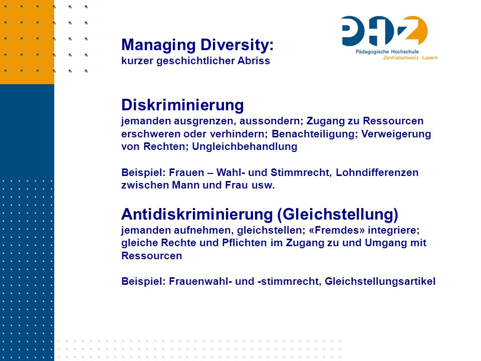 Antidiskriminierung (Gleichstellung)