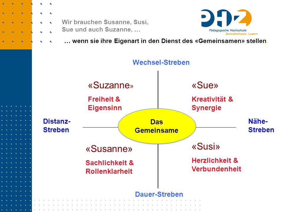 «Suzanne» «Sue» «Susi» «Susanne»
