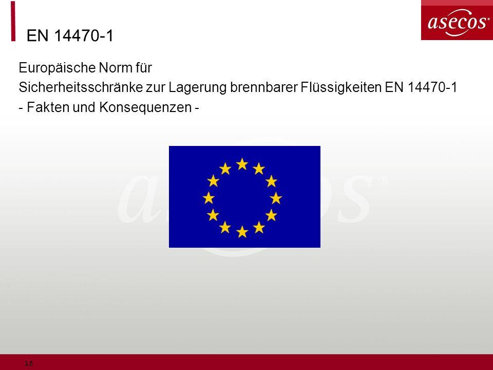EN 14470-1 Europäische Norm für
