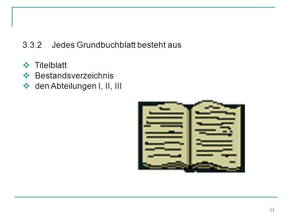 3.3.2 Jedes Grundbuchblatt besteht aus